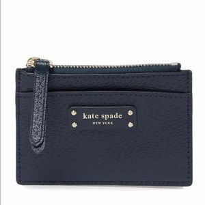 Kate Spade Small zip Card holder